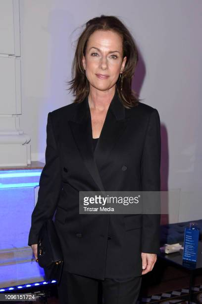 Claudia Michelsen during the Blue Hour Party hosted by ARD during the 69th Berlinale International Film Festival at Haus der Kommunikation on...