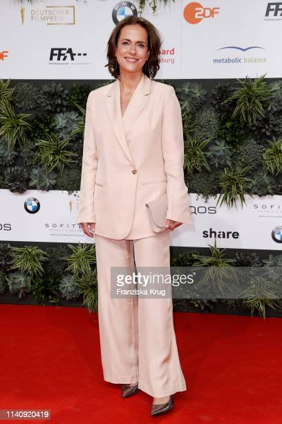 Claudia Michelsen during the Lola German Film Award red carpet at Palais am Funkturm on May 3 2019 in Berlin Germany