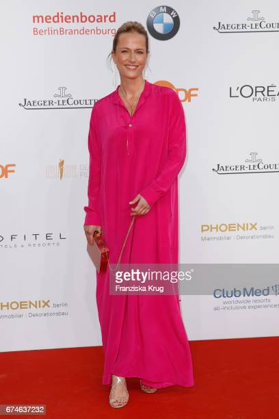Claudia Michelsen during the Lola German Film Award red carpet arrivals at Messe Berlin on April 28 2017 in Berlin Germany