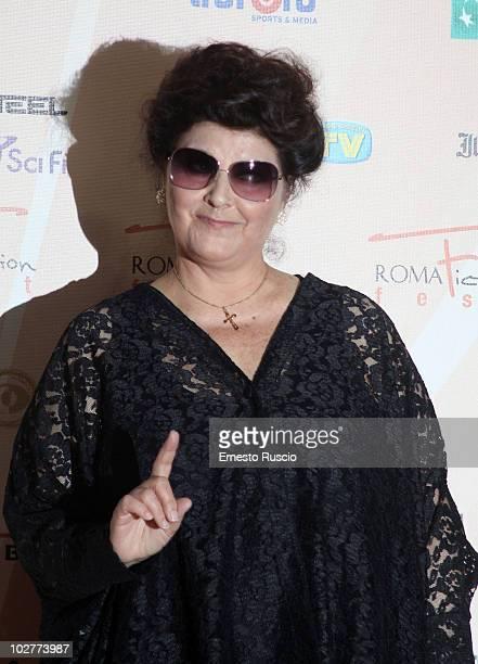 Claudia Mori attends day five of the C'era Una Volta La Citta Dei Matti premiere at Adriano cinema at the Roma Fiction Fest on July 9 2010 in Rome...