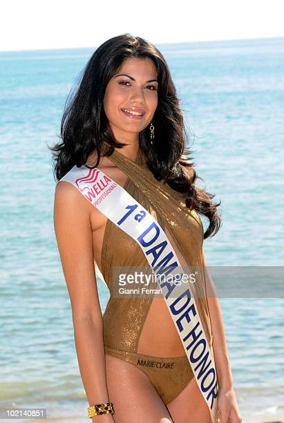 Claudia Moro first lady of honor of Patricia Rodriguez Miss Spain Second March 2008 'Grand Hotel Oasis' Cancun Mexico
