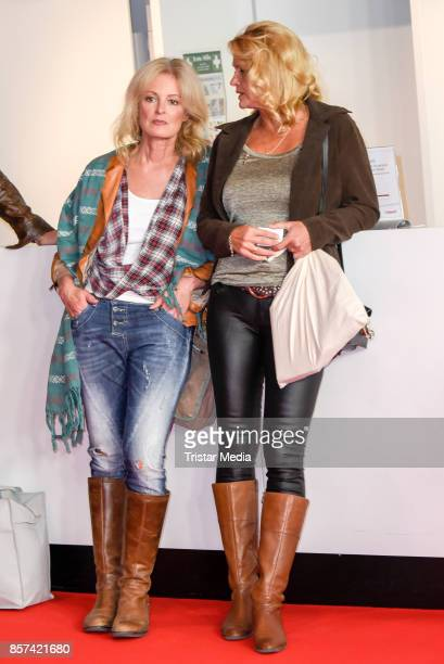 Claudia Neidig and Christiane Zander attend the 'Rock my heart' Premiere at Cinemaxx on September 27 2017 in Berlin Germany
