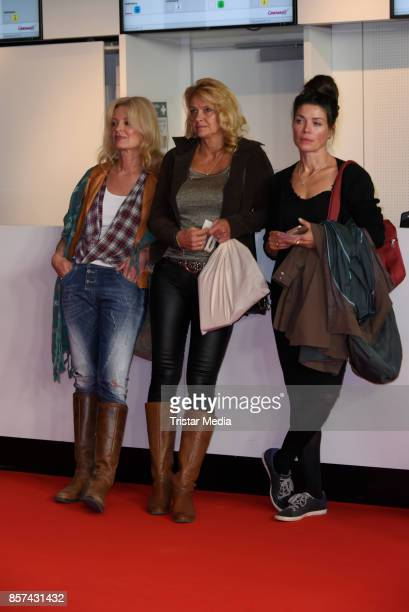 Claudia Neidig Christiane Zander and guest attend the 'Rock my heart' Premiere at Cinemaxx on September 27 2017 in Berlin Germany