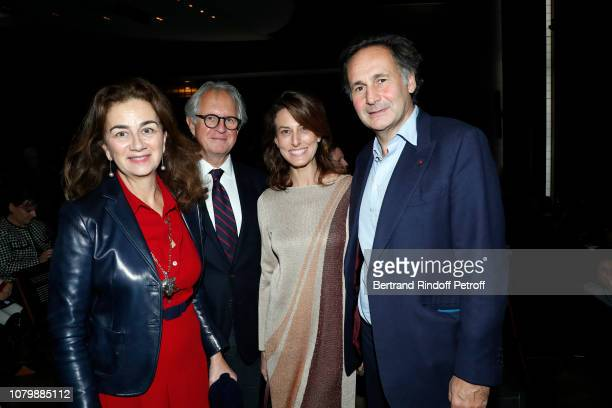 Claudia Niedzielski Cyril Niedzielski Alexandra Fain and PierreOlivier Sur attend 'Cendrillon' choregraphing by Rudolf Noureev during 'Reve d'Enfant'...