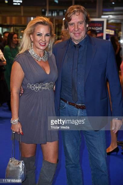 Claudia Norberg and Uwe Rohde during the VIP Late Night Shopping Party at Alstertal shopping mall on October 25 2019 in Hamburg Germany