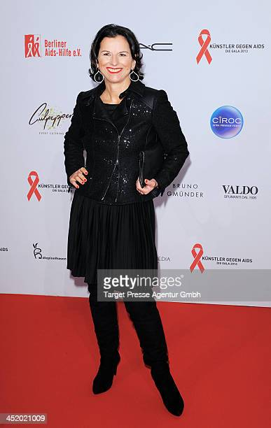 Claudia Obert attends the Artists Against Aids Gala 2013 at Stage Theater on November 25 2013 in Berlin Germany