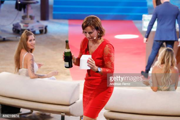 Claudia Obert attends the finals of 'Promi Big Brother 2017' at MMC Studio on August 25 2017 in Cologne Germany