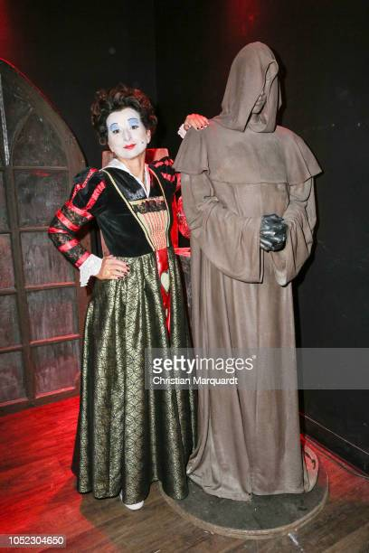 Claudia Obert attends the Halloween party by Natascha Ochsenknecht at Berlin Dungeon on October 16 2018 in Berlin Germany