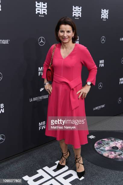 Claudia Obert attends the Riani show during the Berlin Fashion Week Autumn/Winter 2019 at ewerk on January 16 2019 in Berlin Germany