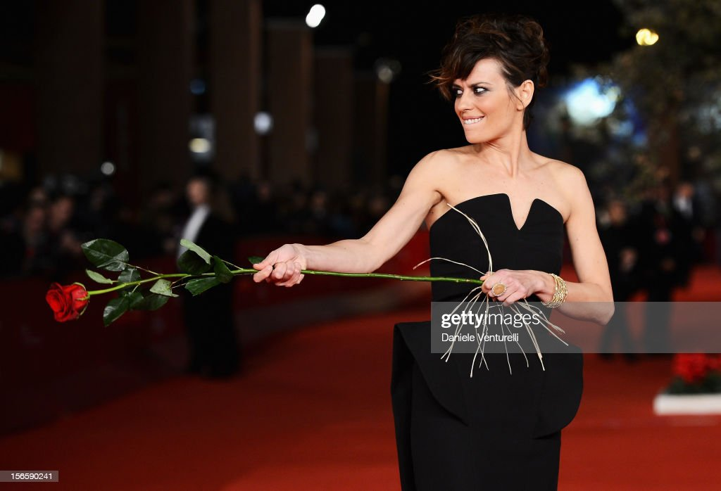 Claudia Pandolfi attends the Closing Ceremony Red Carpet during the 7th Rome Film Festival at the Auditorium Parco Della Musica on November 17, 2012 in Rome, Italy.