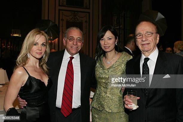 Claudia Peltz Nelson Peltz Wendi Deng and Rupert Murdoch attend Simon Wiesenthal Center Honors Media Mogul Rupert Murdoch with Nicole Kidman Fox News...