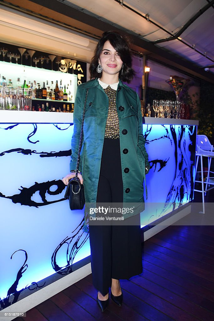 Claudia Potenza attends 'Alice Nella Citta' Jury Dinner during the 11th Rome Film Festival at on October 17, 2016 in Rome, Italy.