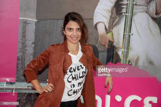 Claudia Potenza attends the 'Every Child Is My Child' photocall as part of 'Alice Nella Citta' during the 13th Rome Film Fest at Auditorium Parco...