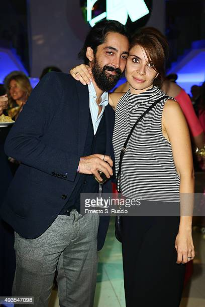 Claudia Potenza attends the JTI party during the 10th Rome Film Fest on October 20 2015 in Rome Italy