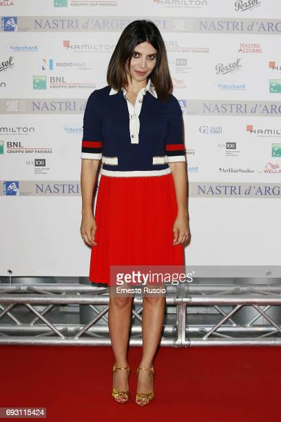 Claudia Potenza attends the nominees presentation of Nastri D'Argento at Maxxi Museum on June 6 2017 in Rome Italy