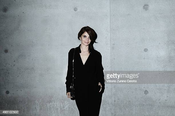 Claudia Potenza poses on October 17 2015 in Rome Italy