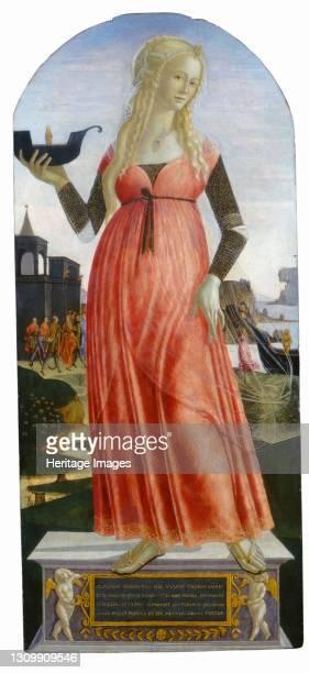 Claudia Quinta, circa 1490/1495. Artist Neroccio de Landi. .