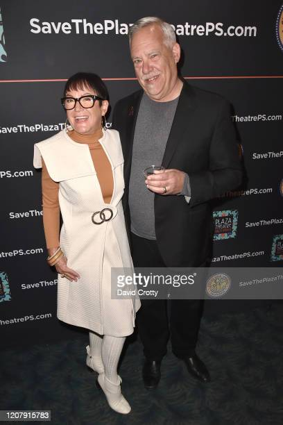 Claudia Ried and Alan Kraemer attend the House Of Cardin Special Screening At Palm Springs Modernism Week at The Plaza Theater on February 21 2020 in...