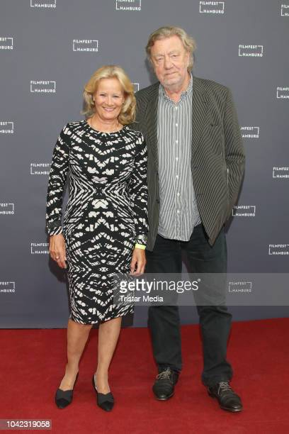 Claudia Rieschel and Ralph Christians attend the opening of the Hamburg Film Festival 2018 on September 27, 2018 in Hamburg, Germany.