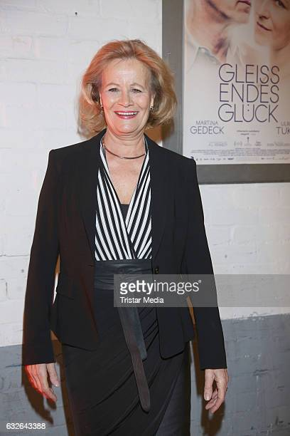 Claudia Rieschel attends the warmup party by Filmfoerderung Hamburg SchleswigHolstein at Kampnagel on January 24 2017 in Hamburg Germany