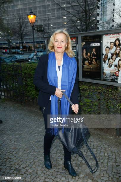 Claudia Rieschel during the premiere of Charly's Tante at Schlosspark Theater on April 6 2019 in Berlin Germany