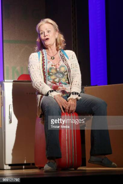 Claudia Rieschel during the rehearsal photo call to 'Wir sind die Neuen' on May 16 2018 in Hamburg Germany