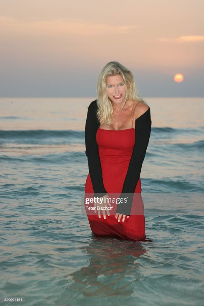 Claudia Roberts, Urlaub, Strand Es Trenc/Mallorca/Spanien ...