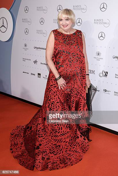 Claudia Roth attends the 65th Bundespresseball at Hotel Adlon on November 25 2016 in Berlin Germany