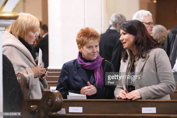 Claudia Roth Petra Pau and dignitaries attend ceremonies to mark the 100th anniversary of the founding of the Weimar Republic on February 6 2019 in...