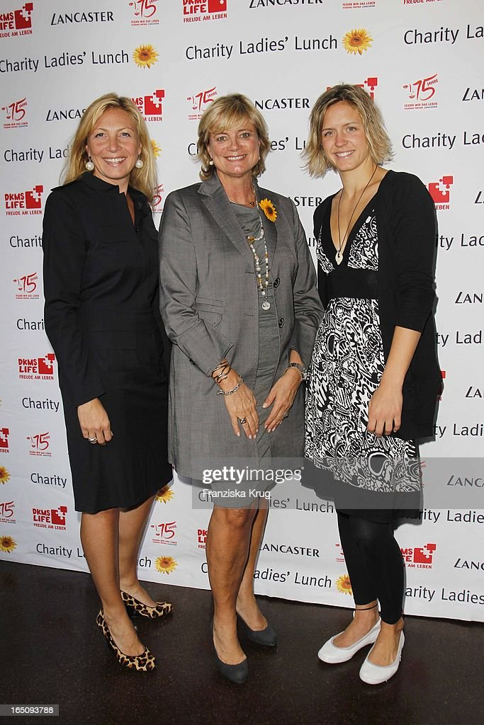 Claudia Rutt Mit Laura Ludwig Beim Dkms Life Ladies Lunch ...
