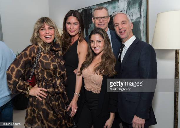 Claudia SaezFromm Michelle Griffith Ryan Fitzpatrick Jackie Pesce and Mark David Fromm attend Gotham Magazine's and The Corcoran Group Celebration of...