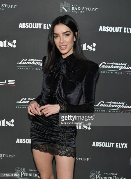 Claudia Salinas attends the debut of Lamborghini's first ever super sport utility vehicle Urus on March 8 2018 in Los Angeles California