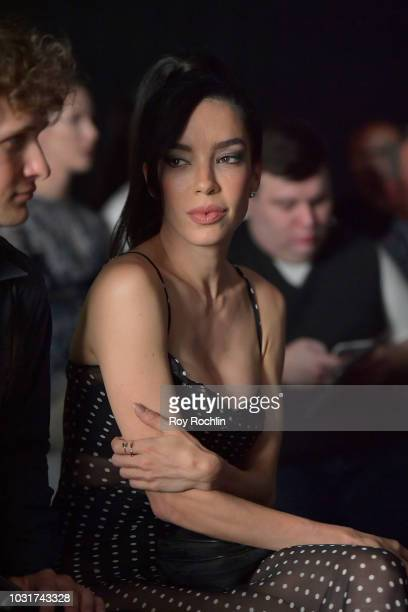 Claudia Salinas attends the Hogan McLaughlin show in Gallery II during New York Fashion Week The Shows at Spring Studios on September 11 2018 in New...