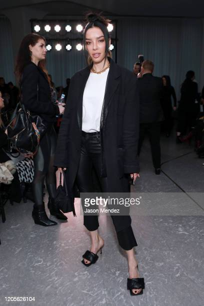Claudia Salinas attends the Naeem Khan fashion show during February 2020 New York Fashion Week The Shows on February 11 2020 in New York City