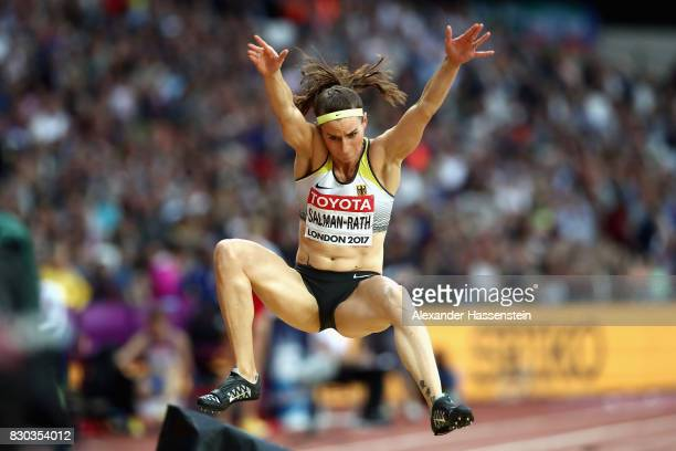 Claudia SalmanRath of Germany competes in the Women's Long Jump final during day eight of the 16th IAAF World Athletics Championships London 2017 at...