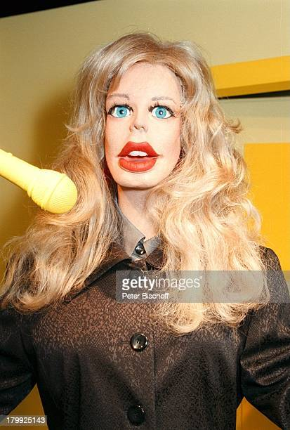 Candy doll stock photos and pictures getty images claudia schiffer als gumpuppe 10jhriges jubilumder gumpuppen studios voltagebd Image collections