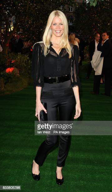 Claudia Schiffer arrives for the European Premiere of Stardust at the Odeon Leicester Square London WC2