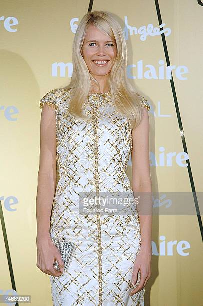 Claudia Schiffer at the Marie Claire's IV Fashion Prizes Party - November 22, 2006 at Residence of the French Ambassador in Madrid.