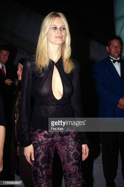 Claudia Schiffer attends the 52th Cannes Film Festival on May 1999 in Cannes, France.