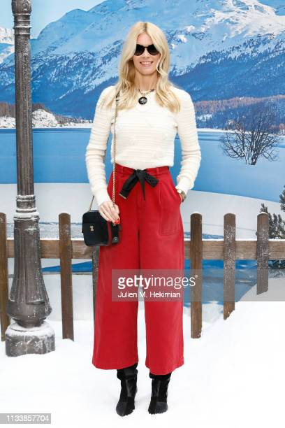 Claudia Schiffer attends the Chanel show as part of the Paris Fashion Week Womenswear Fall/Winter 2019/2020 on March 05 2019 in Paris France