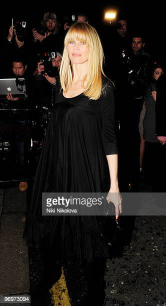 Claudia Schiffer attends the Elle style awards on February 22, 2010 in London, England.