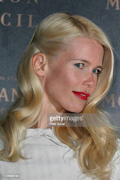 Claudia Schiffer attends The Moet Mirage Evening at the Holland Park Opera House September 16 2007 in London England