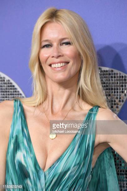 Claudia Schiffer attends the New York premiere of Rocketman at Alice Tully Hall on May 29 2019 in New York City