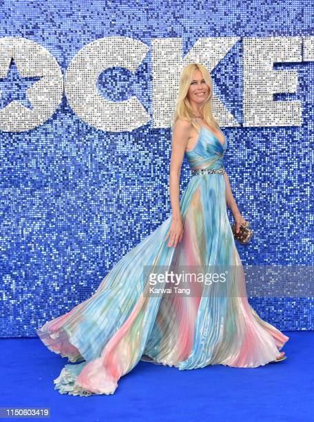 Claudia Schiffer attends the Rocketman UK premiere at Odeon Luxe Leicester Square on May 20 2019 in London England