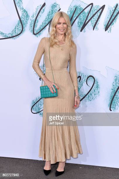 Claudia Schiffer attends The Serpentine Galleries Summer Party at The Serpentine Gallery on June 28 2017 in London England