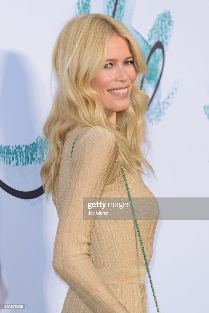 Claudia Schiffer attends The Serpentine Galleries Summer Party at The Serpentine Gallery on June 28, 2017 in London, England.