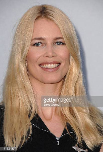 Claudia Schiffer during 2007/2008 Chanel Cruise Show Presented by Karl Lagerfeld at Hangar 8 Santa Monica Airport in Santa Monica California United...