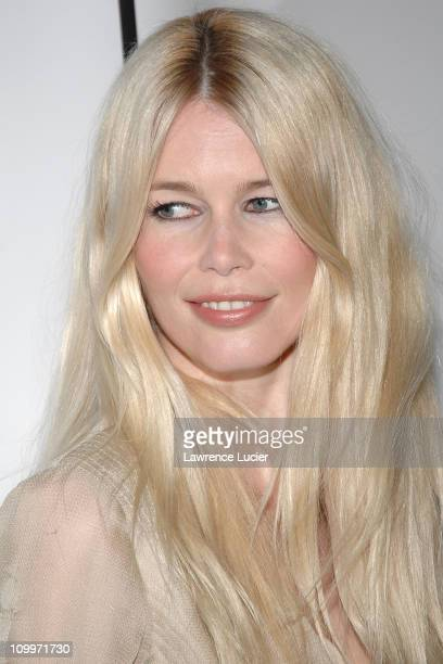 Claudia Schiffer during 4th Annual Tribeca Film Festival Layer Cake Premiere at Regal Cinemas in New York NY United States