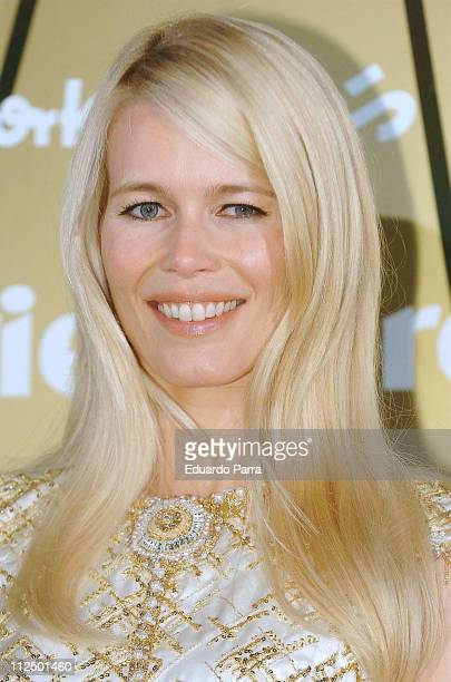 Claudia Schiffer during Marie Claire's IV Fashion Prizes Party - November 22, 2006 at Residence of the French Ambassador in Madrid, Spain.