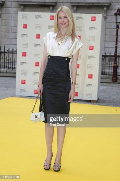 Claudia Schiffer during Royal Academy Summer Exhibition 2007 - VIP Private View at Royal Academy Of Arts in London, Great Britain.